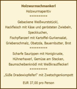 Holzwurmschmankerl